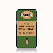 07154 penguin murders praed street cell phone case cover for Samsung Galaxy J1 MINI J2 J3 J7 ON5 ON7 J120F 2016