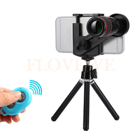 2017 Phone Lentes Kit 12X Zoom Telephoto Lense Telescope Lens For IPhone 5s 6 S 7