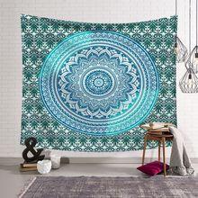 India mandala Datura tapestry boho decor wall hanging Bohemian Beach Towel beach cover up yoga mat tenture mural tapisserie