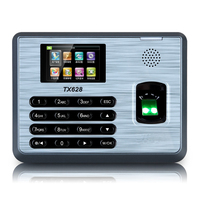 ZK TX628 TCP/IP Fingerprint Time Attendance With Free Software ZK Biometric Fingerprint Time Clock
