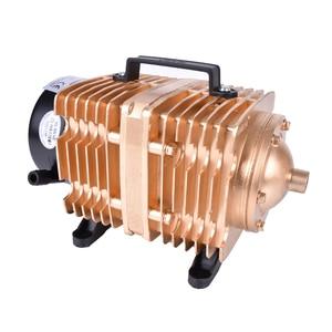 Image 2 - Bomba de aire electromagnética para acuario de peces, bomba de aire de compresor de oxígeno, 145L /min, 0.040Mpa, 160W, CA 220 V