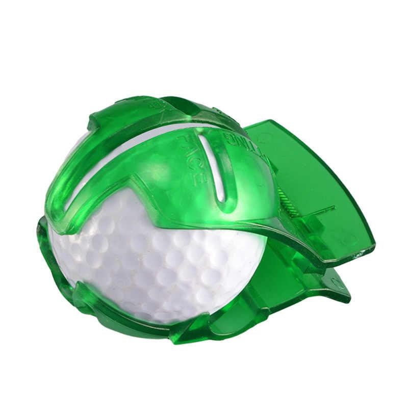 ミニゴルフボールのラインライナーマーカーテンプレート描画アライメントマーク置くツール