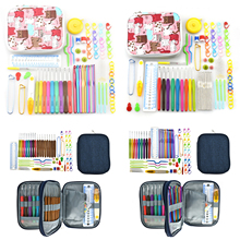 KOKNIT Aluminium Crochet Hooks Knit Colorful Needle Set Sweater Knitting Needls Hook with Bag