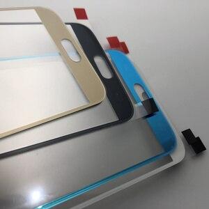 Image 2 - Oryginalna pełna obudowa tylna pokrywa + przednia do szkła ekranu i soczewek + środkowa ramka do Samsung Galaxy S6 G920 G920F G920A SM G920F