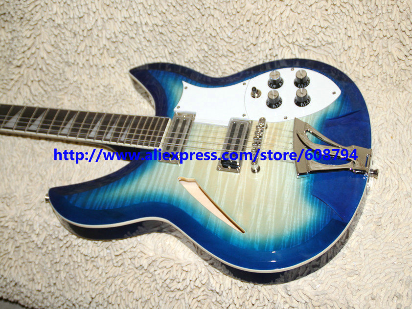 12 strings blue flame 325 electric guitar new arrival wholesale guitars china guitar factory. Black Bedroom Furniture Sets. Home Design Ideas