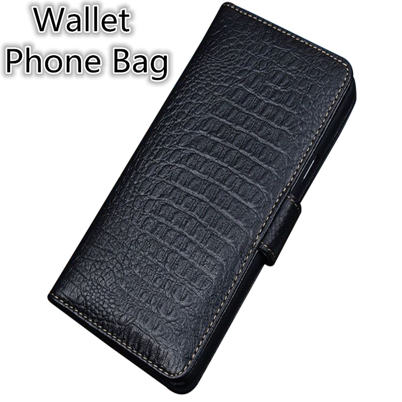 SS10 Genuine Leather Wallet Phone Bag Card Holders For Sony Xperia Z3 Compact Phone Case For Sony Xperia Z3 Compact Flip Cover