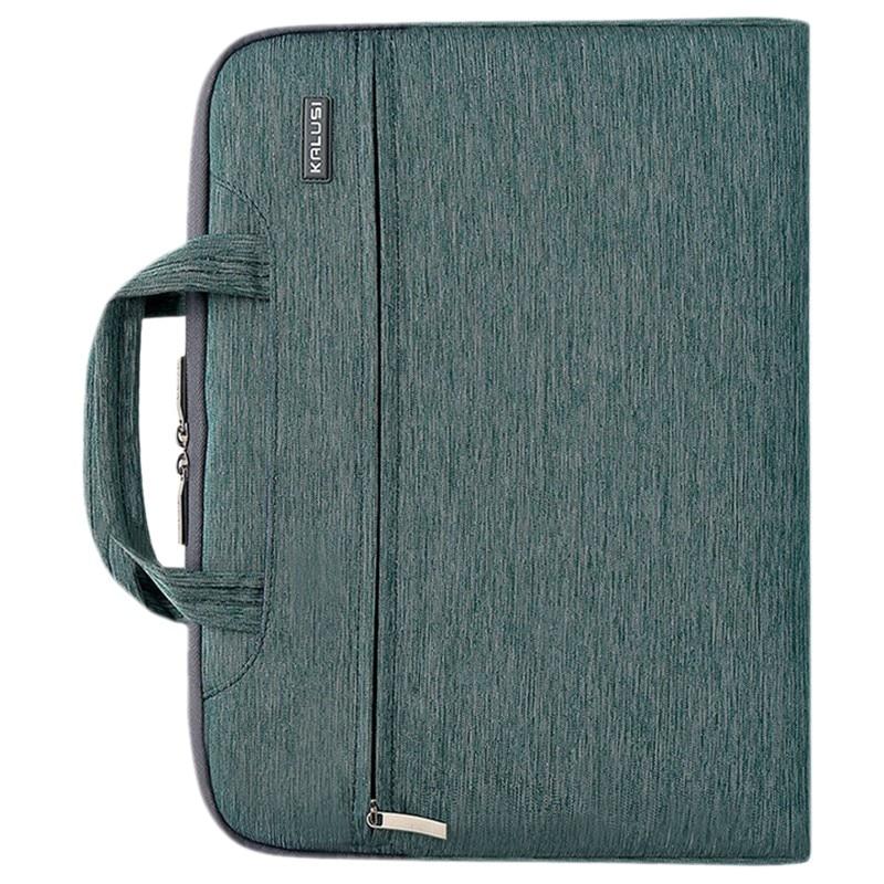 New waterproof arrival laptop bag case computer bag notebook cover bag 13 inch for Apple Lenovo Dell Computer bag(Denim Green)