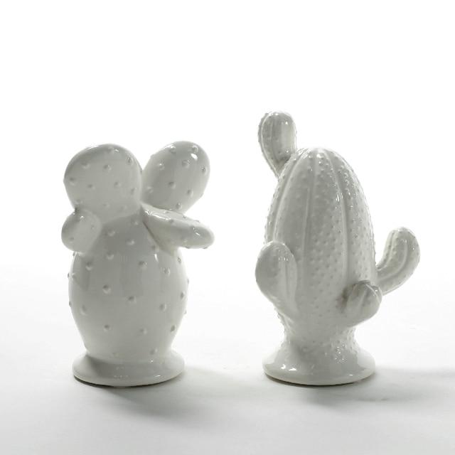 moderne keramik kreative kaktus statue wohnkultur handwerk kinderzimmer dekoration handwerk garten ornamente porzellan figur geschenk - Kinderzimmer Dekoration Handwerk