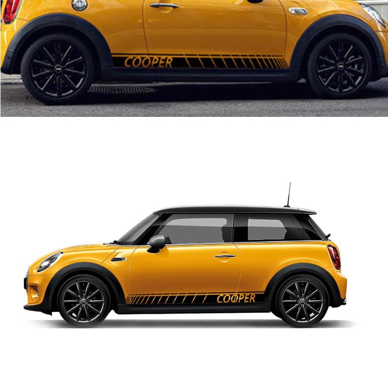Auto 180x12 Cm 2x Voor Mini Auto Lichaam Zijn Alle Gewijzigde Andere Stickers Lahua Auto Stickers