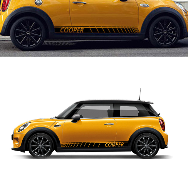 Automobile 180x12cm 2x For Mini Car Body Are All Modified Other