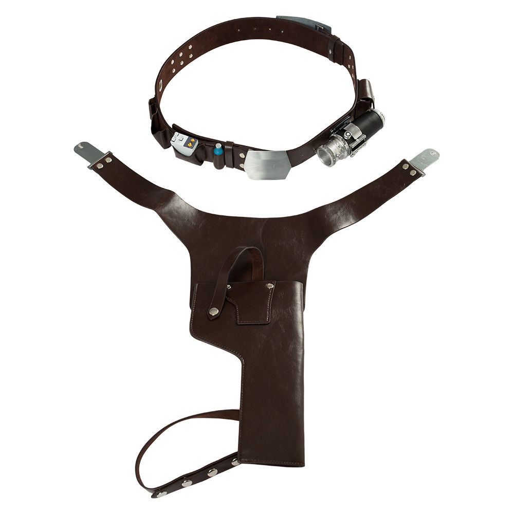 Solo A Star Wars Story Han Solo Belt Harness Set Strap Holster Holder Star Wars Cosplay Costume Prop Halloween Carnival