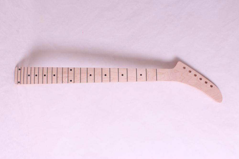 one   electric guitar neck maple made and maple wood  fingerboard Bolt on 24 fret one electric guitar neck maple made and maple fingerboard bolt on mahogany body