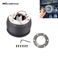MALUOKASA Universal Plastic Car Auto Steering Wheel Racing Quick Release Hub Adapter Snap Off Boss Kit