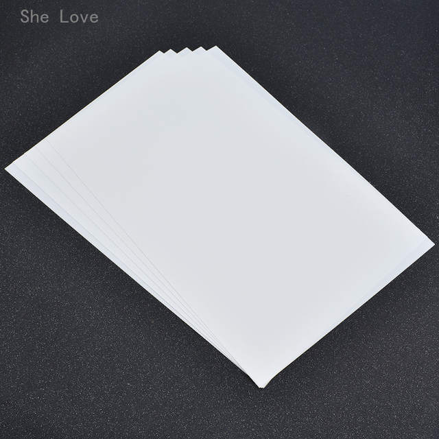 photo relating to Printable Plastic Sheet named US $4.99 She Appreciate 5 Sheets Do-it-yourself Magic Shrink Plastic Sheet Paper Plastic Sheet Do-it-yourself Inventive Decorating Printable Embellishments-within Embellishments against
