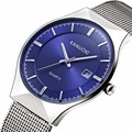 Men Watches Top Brand Luxury 50M Waterproof Ultra Thin Date Clock Male Steel Strap Casual Quartz Watch Men Sports Wrist Watch