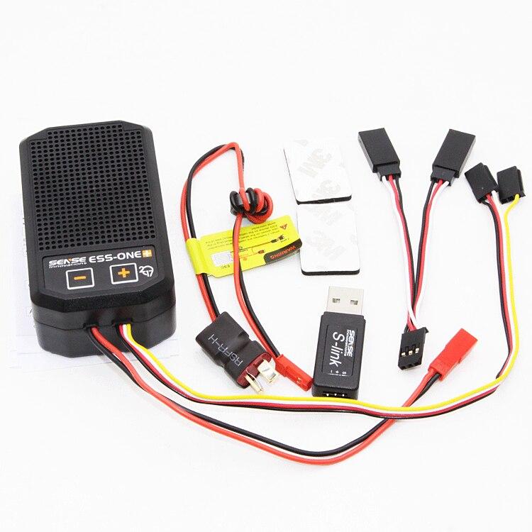 1 комплект звуковая система двигателя ESS ONE Plus 5 26 в настоящий звуковой симулятор двигателя для рок гусеничных радиоуправляемых автомобилей
