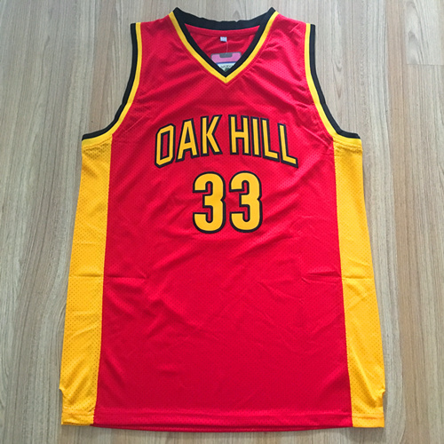 Kevin Durant Jersey 33 Oak Hill High School Basketball Jersey Throwback Mens College jer ...