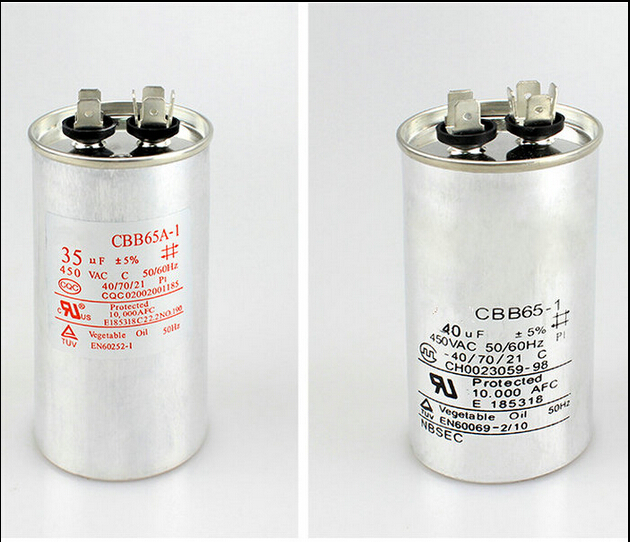 CBB65 air conditioner compressor starting capacitor 25UF/30/35UF/40/45/50/60UF 450V esm6045dv st trans npn darl 450v 84a isotop