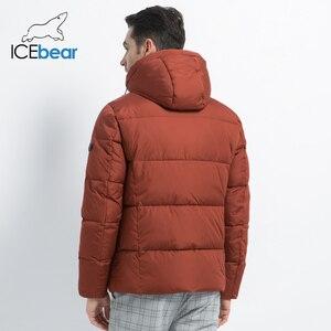 Image 4 - 2019 neue Winter herren Jacke Hohe Qualität Mann Mantel Mit Kapuze Männliche Kleidung Casual männer Baumwolle Kleidung Marke Bekleidung MWD19601D