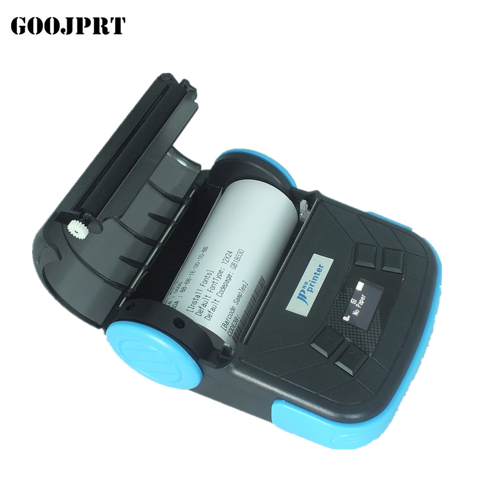 Free shipping 80mm bluetooth thermal printer for android ios with SDK free sdk 80mm mobile portable thermal receipt printer android bluetooth printer mini android printer support android ios pc