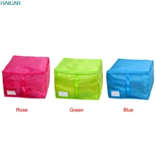 Small Size Clothing Storage Boxes 3 Colors Quilts Sorting Pouch Underwear Socks Organizer Bags Bins Levert Dropship feb24