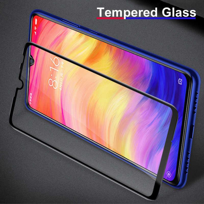 フルカバー強化ガラススクリーンプロテクターシャオ mi 赤 mi 注 7 6 5 3 プロ 5 プラス mi 9 se A2 8 Lite 6X A1 5A 6A 4 4X フィルム