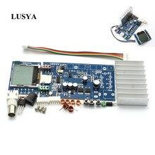 Lusya ชุด DIY FM 76 108MHZ PLL เครื่องส่งสัญญาณ FM Suite 5W MAX 7W ความถี่ปรับสำหรับเครื่องขยายเสียง HIFI C5 008