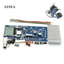 Lusya DIY KITS FM 76M 108MHZ stereo PLL FM transmitter suite 5W max 7W power frequency adjustable for hifi amplifier  C5 008