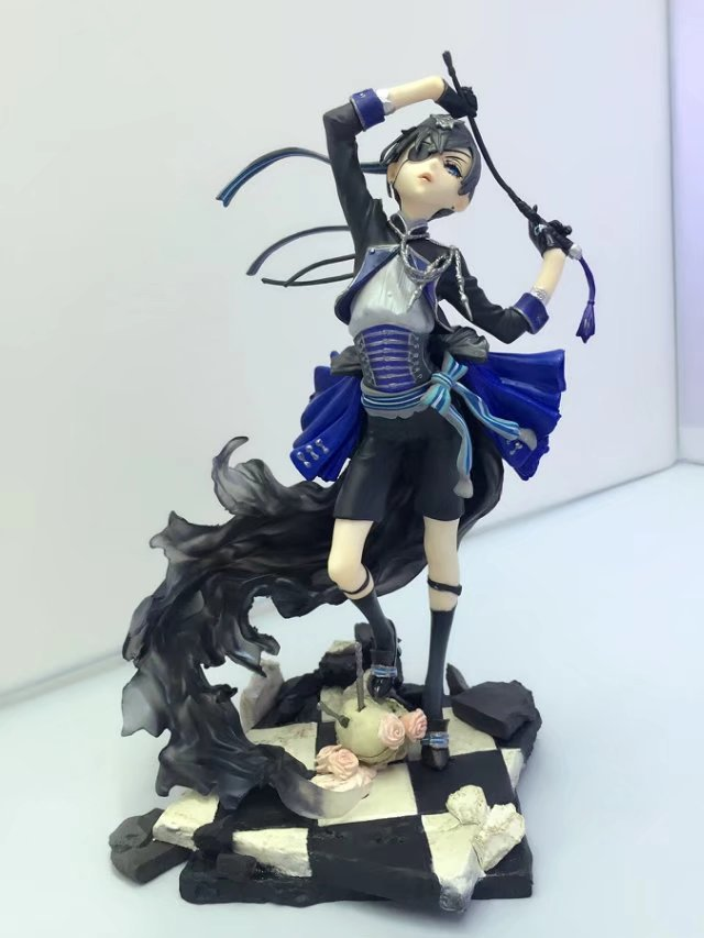NEW hot 22cm Black Butler Ciel Phantomhive Action figure toys collection doll