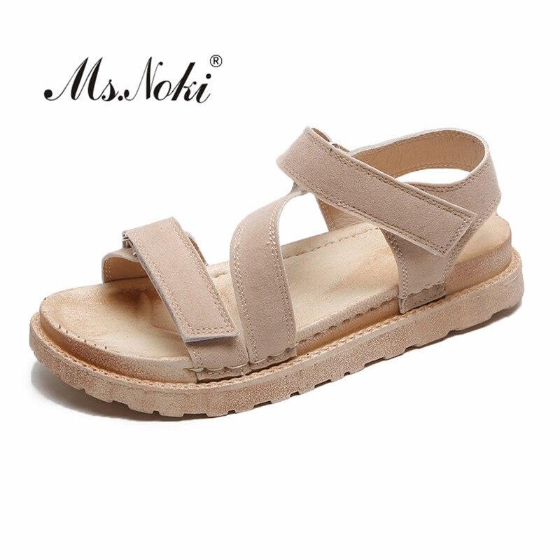 Mode sexy frauen sandalen 2019 neue lager größe 36-42 schuhe sommer plattformen flock classics damen party sandale flache mit frühling