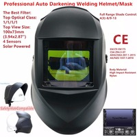 Welding Mask Top Size 100 73mm 3 94 2 87 Top Optical Class 1111 4 Sensors