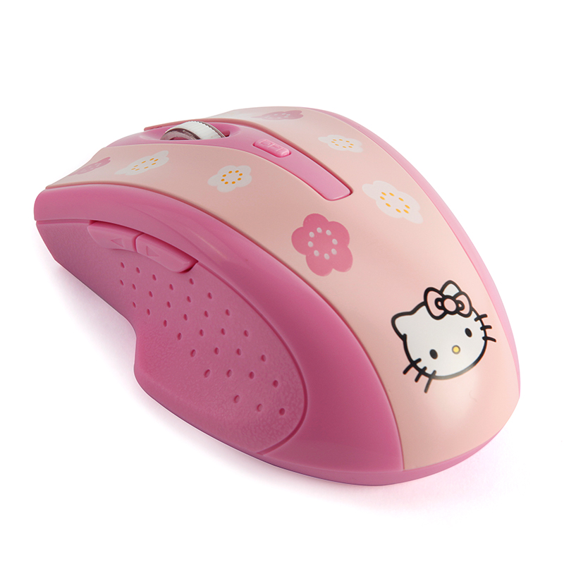 c510f3e8d Computer PC Mouse Hello Kitty KT Drahtlose Maus 2400 DPI Pro Spiel Mouse  Geschenk for Girl Gift Gamer Rechargeable Wirele Mice-in Mice from Computer  ...