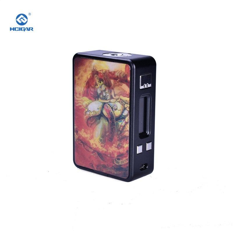 Cigarette électronique Mods D'origine HCIGAR VT Boîte de Réception V3 Mech Mod 75 W Vaporisateur Alimenté Evolv Glisser TC DNA75 Puce Alimenté 18650 Batterie - 4