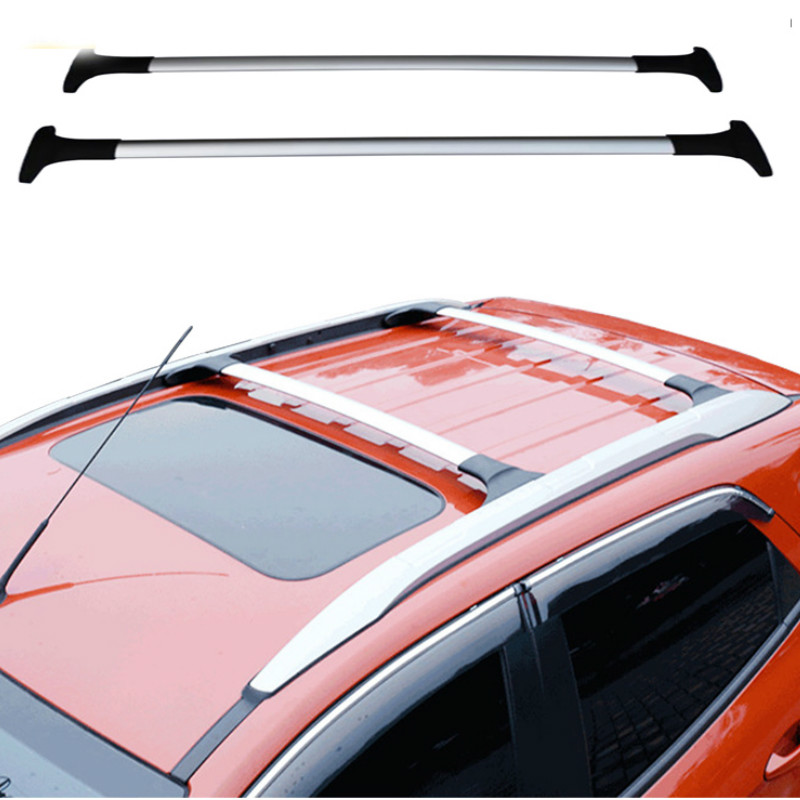 Funduoo For Ford Ecosport 2013 2014 2016 2017 Aluminum Alloy Side Bars Cross Rails Roof Rack