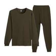Keep warm underwear Fall winter couple men and women Shu skin cotton Loose large underwearOne set 2XL/3XL/111006/1
