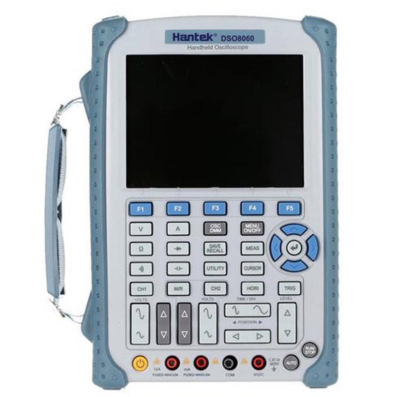 все цены на Hantek DSO8060 5 in 1 Handheld Oscilloscope DMM / Spectrum Analyzer / Frequency Counter / Arbitrary Waveform Generator онлайн