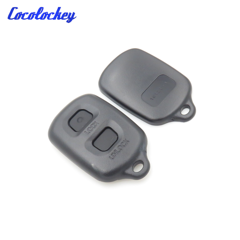 Replacement Key Shell Fob Case Fit For Toyota RAV4 Corolla 1998-1999 2 Button Remote Key