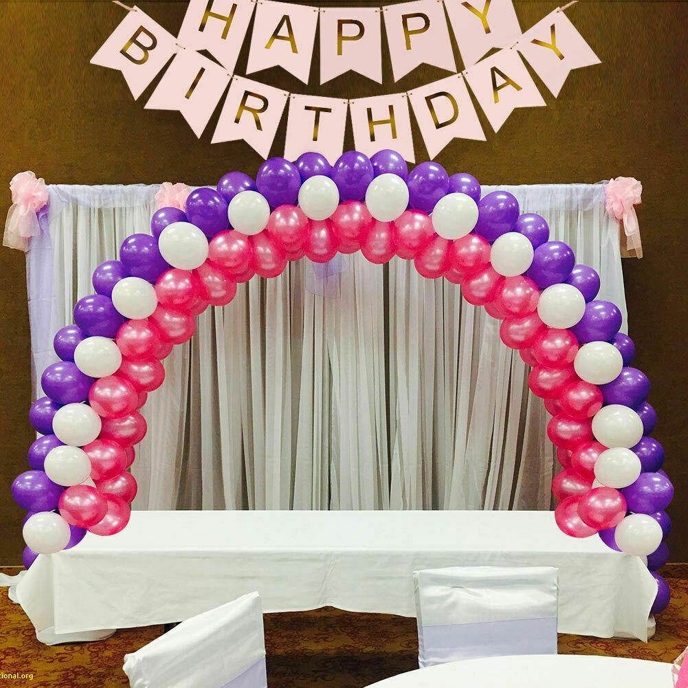 DIY Balloon Arch Kit Table Balloon Arch Column Stand Wedding Birthday Party Xmas