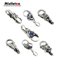 Genuine 925 Sterling Silver Charms Troll Tree Castle Fish Flower Locks Lobster Clasp Fit European Brand