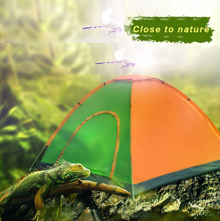 3-4 Person Double Layers Outdoor Camping Tent Quick Automatic Opening Waterproof Hiking Picnic Adventure Tent Four Season Tent outdoor double layer 10 14 persons camping holiday arbor tent sun canopy canopy tent