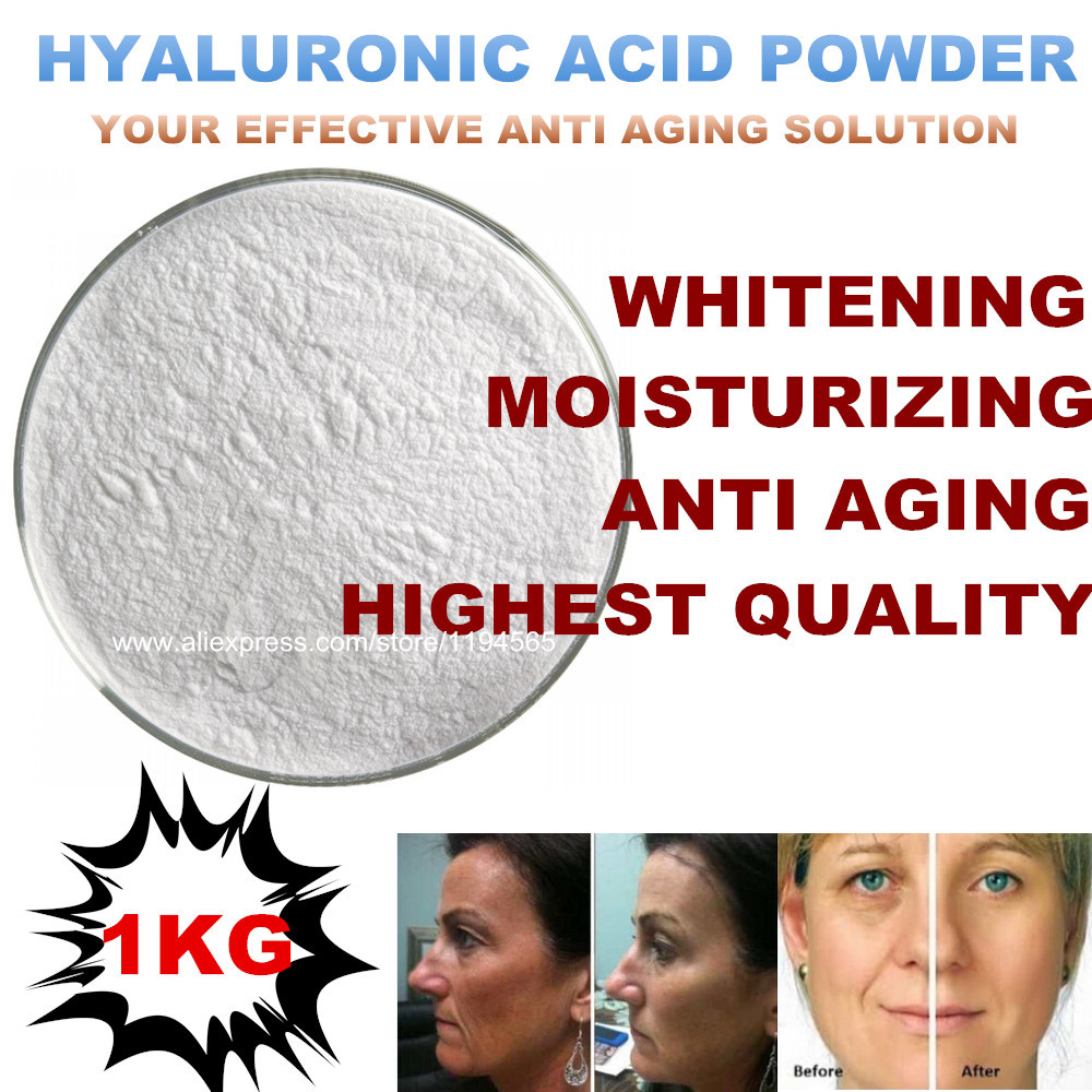 1Kilo Hyaluronic Acid Mask Powder Anti Aging Agless Moisturizing Soft Rejuvenation Beauty Equipment Free shipping free shipping 1kg 1000g moisturizing anti aging hyaluronic acid soft mask powder for face neck hand beauty salon spa products