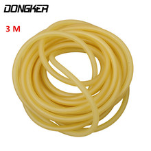 3m Natural Latex Slingshots Rubber Tube Outdoor Hunting Shooting Rubber Band Catapult Elastic Part Fitness Bungee Equipment