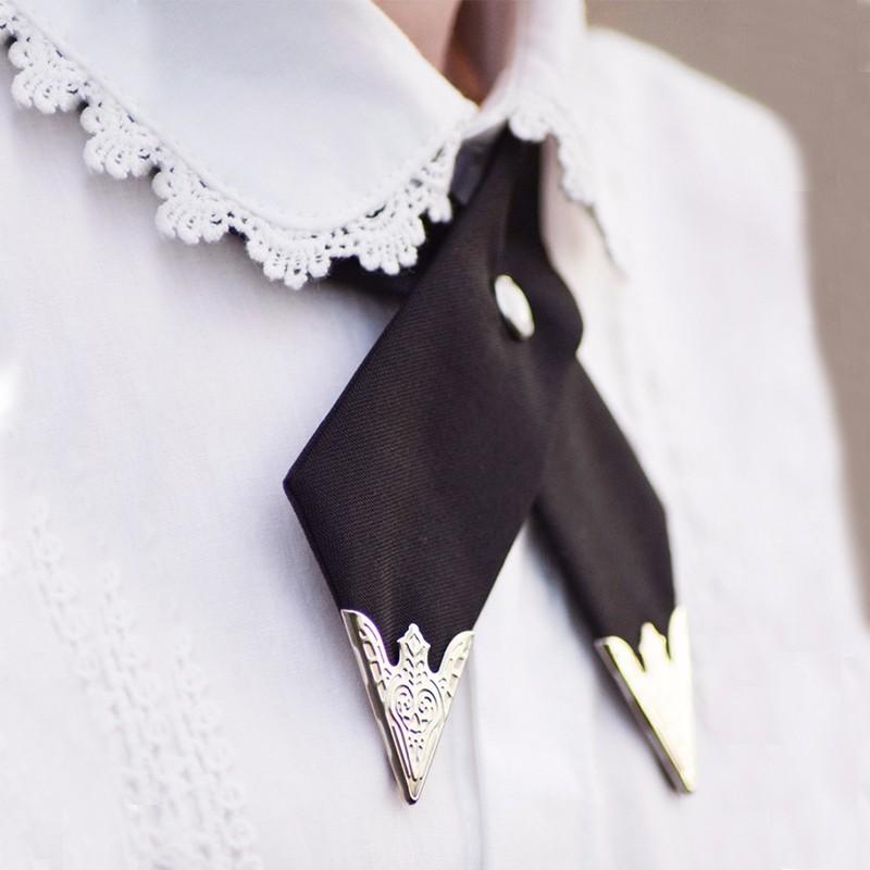 2016-Fashion-Adjustable-Cross-Polyester-Tie-Solid-Color-Collar-Cross-Wedding-Tie-White-Universal-Necktie-High (1)