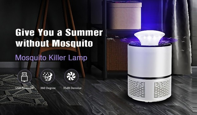 Mosquito-Killing Lamp Led Household Insect Repellent 4