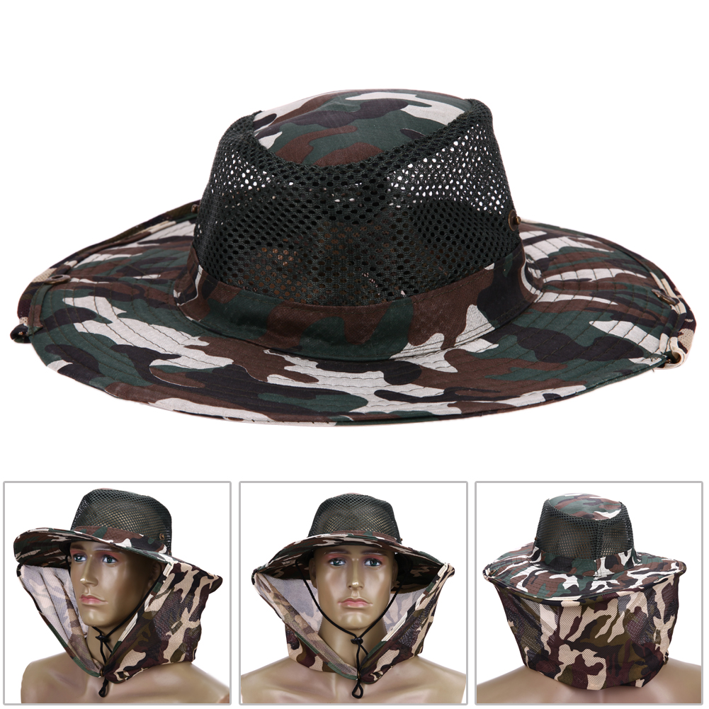 426b85c12fc71 360 Degree Sunscreen Camouflage Hats Outdoor Sun Shading Anti ...