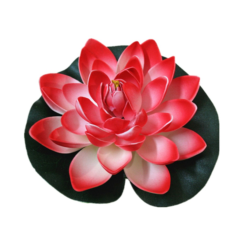 Ornament Floating-Flower Garden-Pool-Plant Pond-Tank Fake-Lotus Artificial Home Simulation