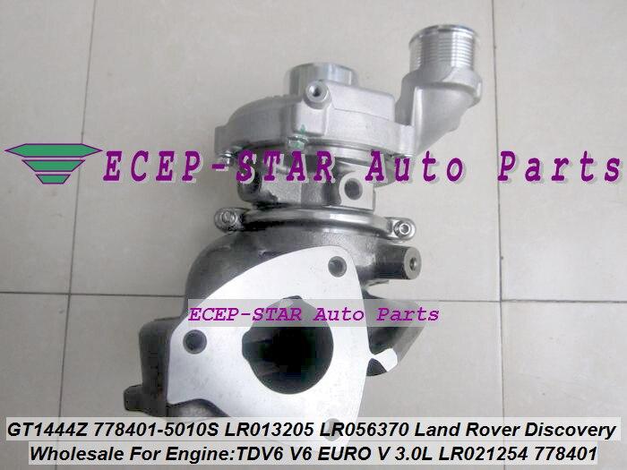 Turbo GT1444Z 778401 778401-5006S LR038620 LR032370 LR063777 Without Actuator For Land Rover Discovery 4 IV TDV6 V6 EURO V 3.0L