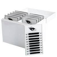10 Layers Eyelash Storage Box Makeup Organizer False Eyelashes Glue Pallet Holder Grafting Eyelashes Extension Makeup Tool
