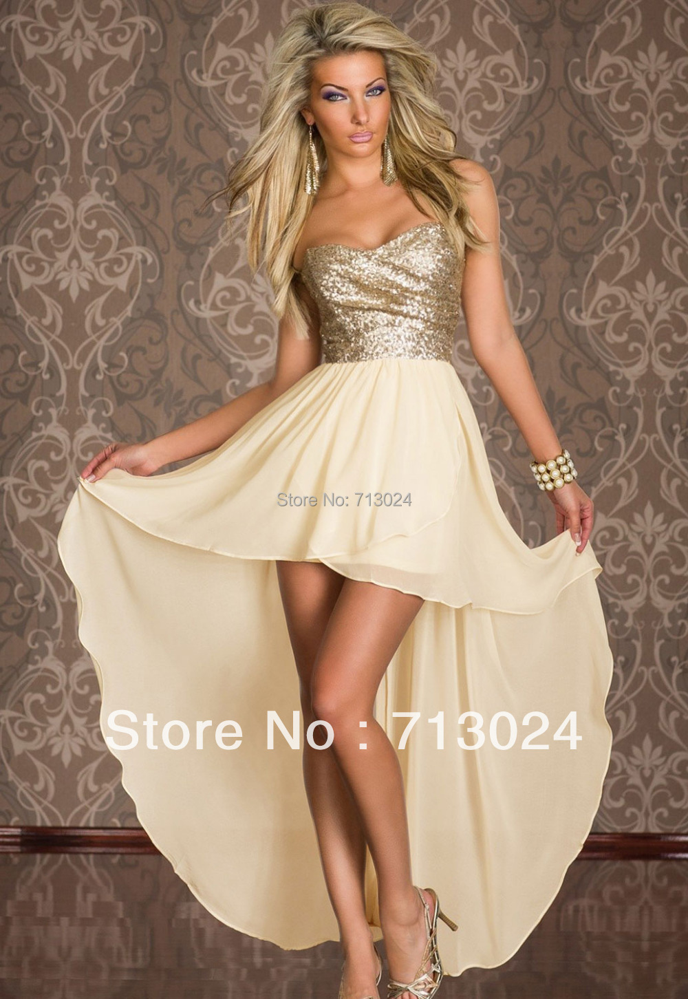 Popular Beige Dresses-Buy Cheap Beige Dresses lots from China ...