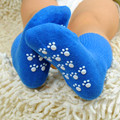 2016  Cotton Baby Socks Newborn Anti Slip Toddler Shoes Socks Baby Socks With Rubber Soles Children Ws501